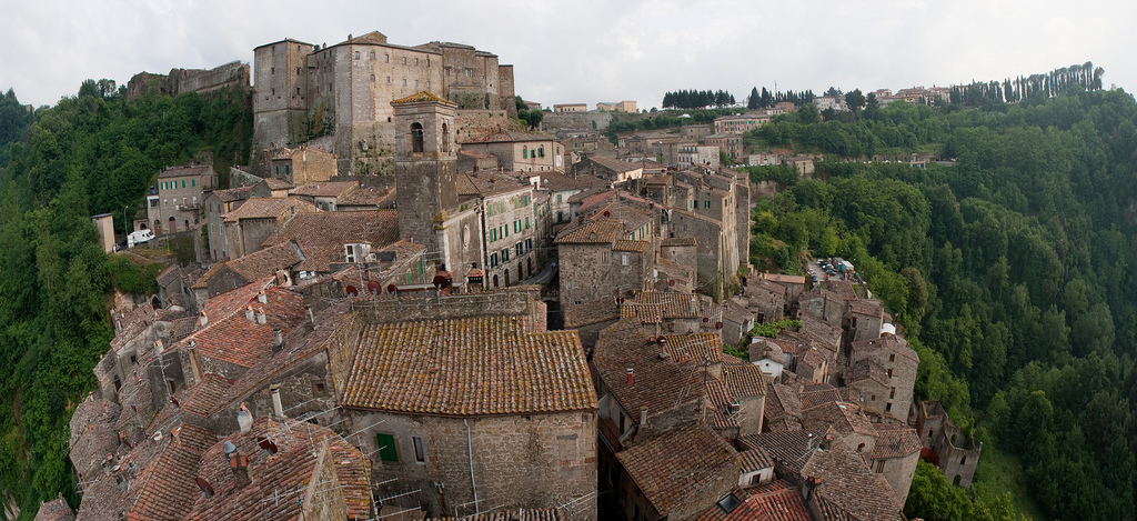 sorano tuscany etruscan