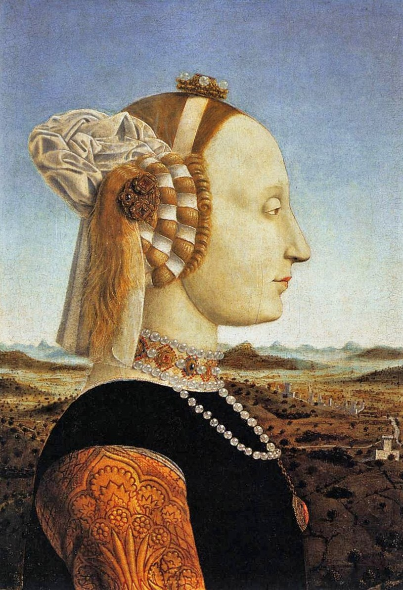 Piero della Francesca (Early Renaissance painter, c 1415–1492) Battista Sforza, Duchess of Urbino