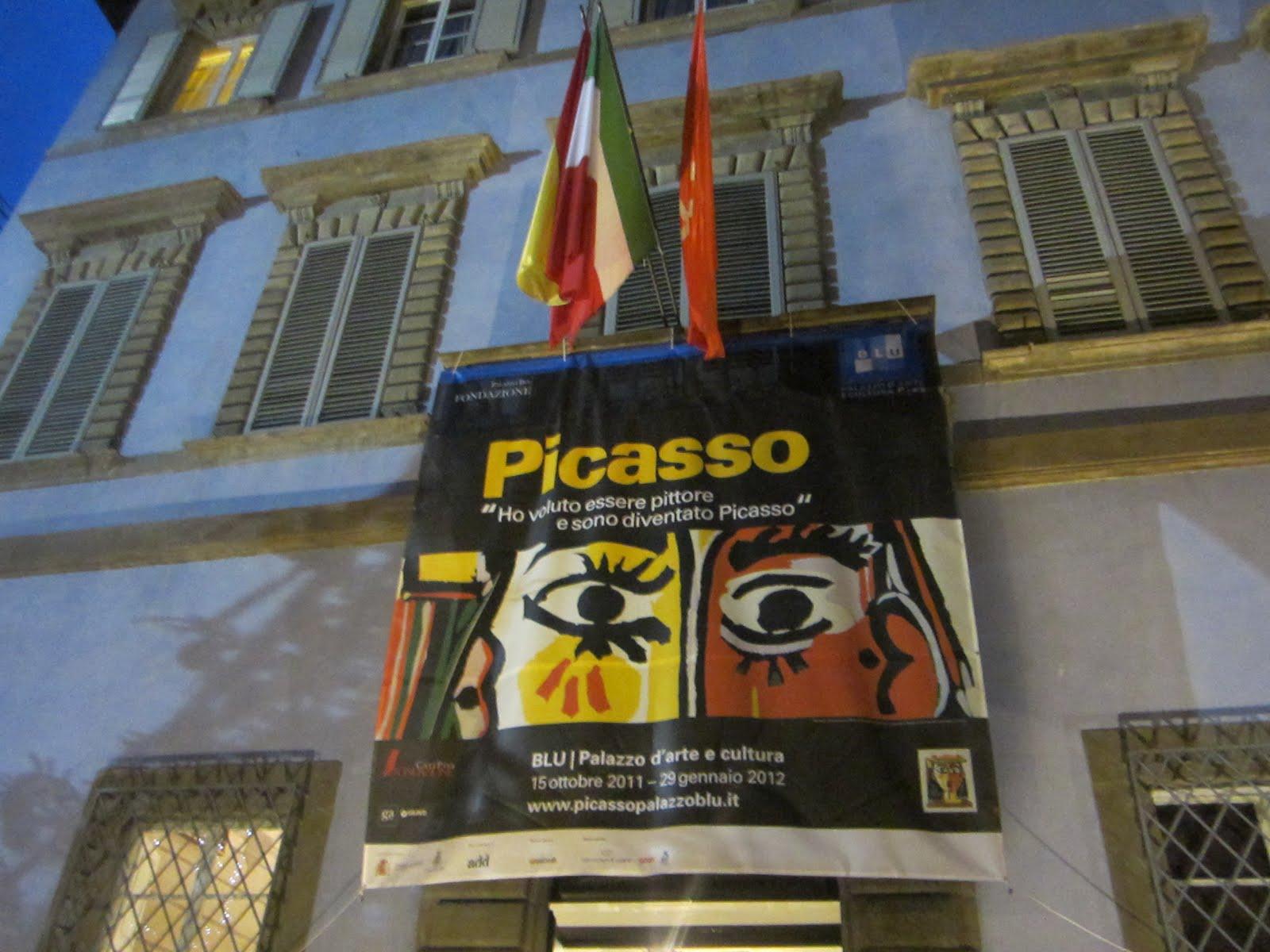 picasso palazzo blu exhibit pisa