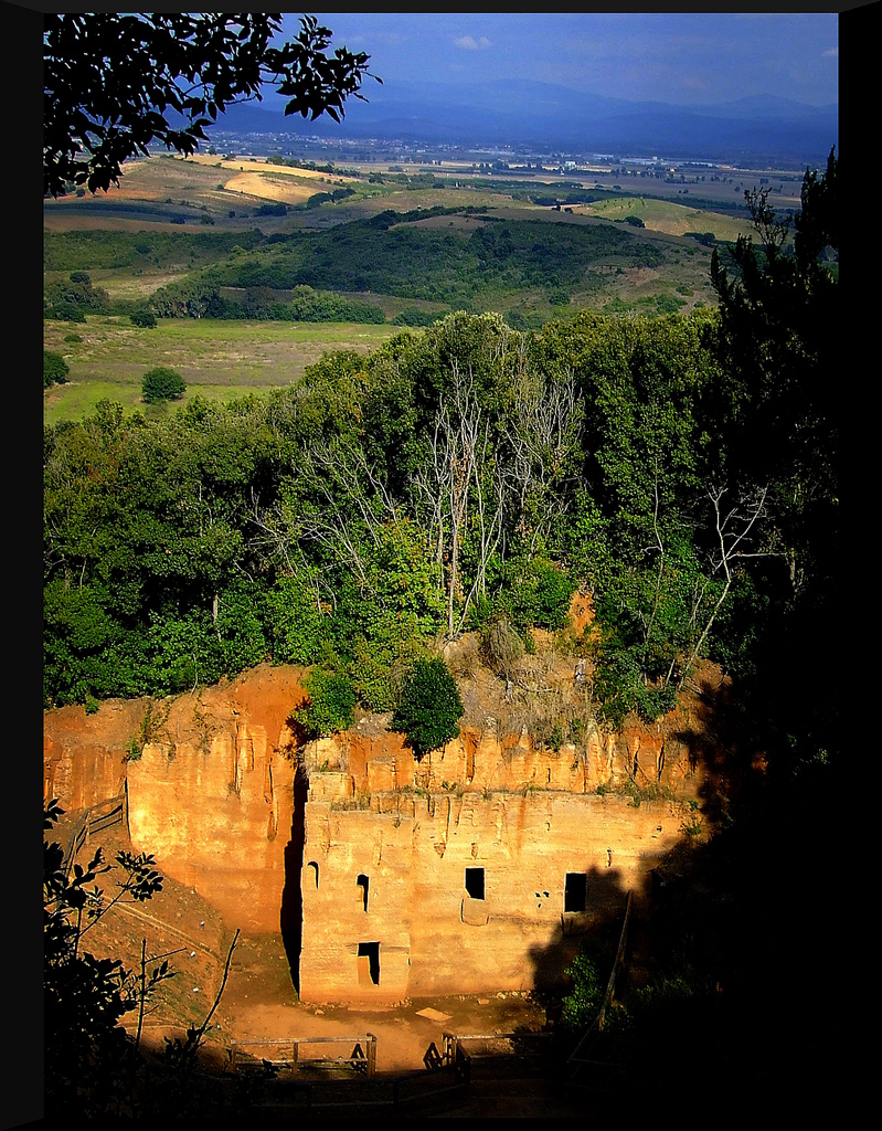 Populonia archeological site Tuscany