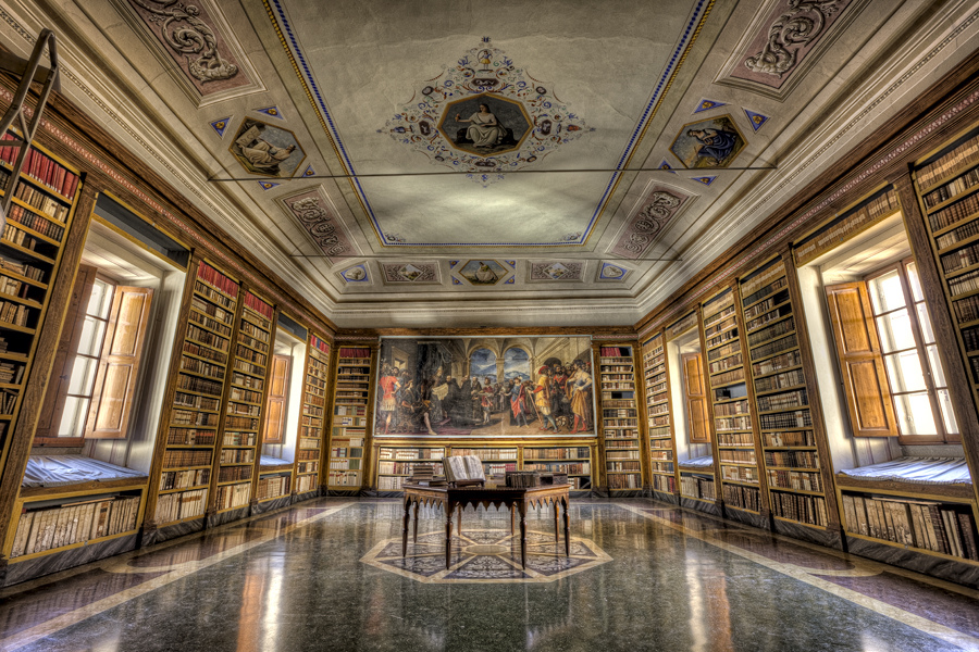Vallombrosa Abbey library