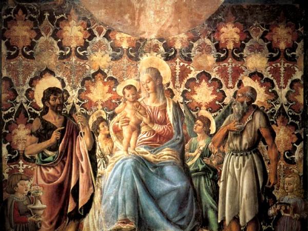 Madonna col Bambino - Andrea del Castagno