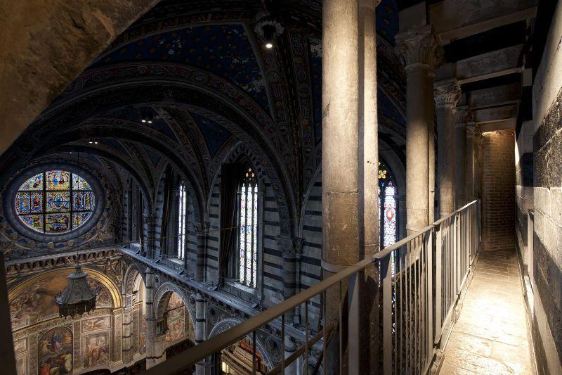 Siena Cathedral porta del cielo