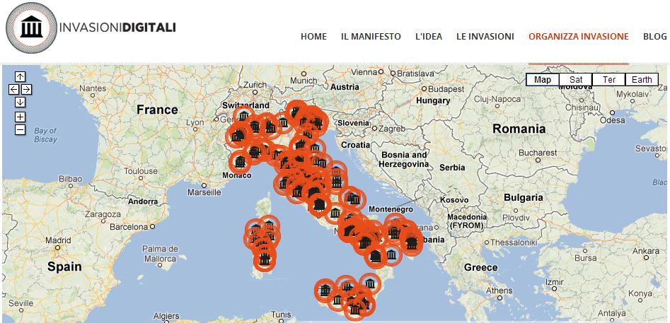 digital invasions map