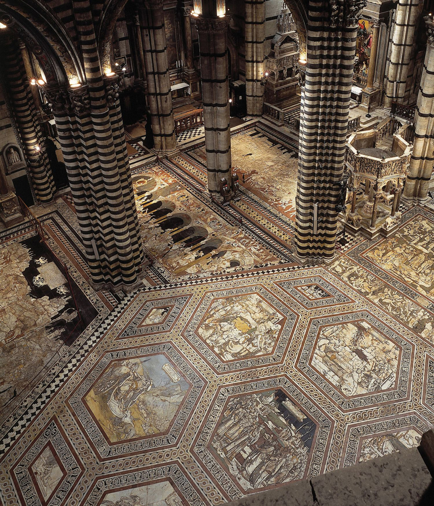 siena duomo dome cathedral floor