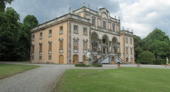 Villa Mansi, in the area of Lucca