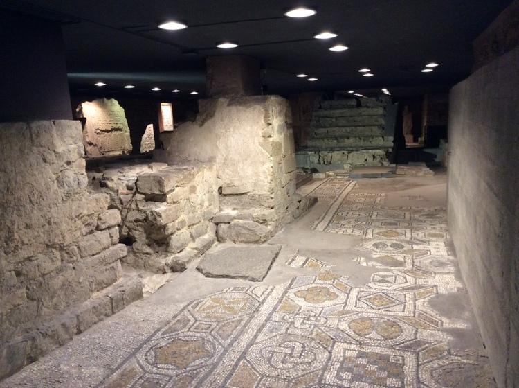 Image result for Cripta di Santa Reparata. florence