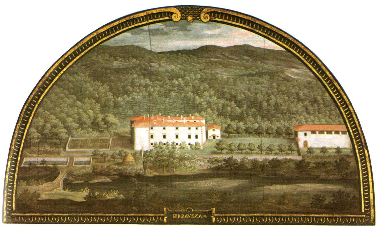 Serravezza Medici palace