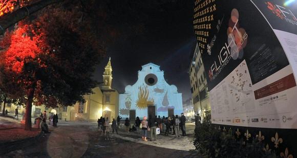 F-light festival in Florence