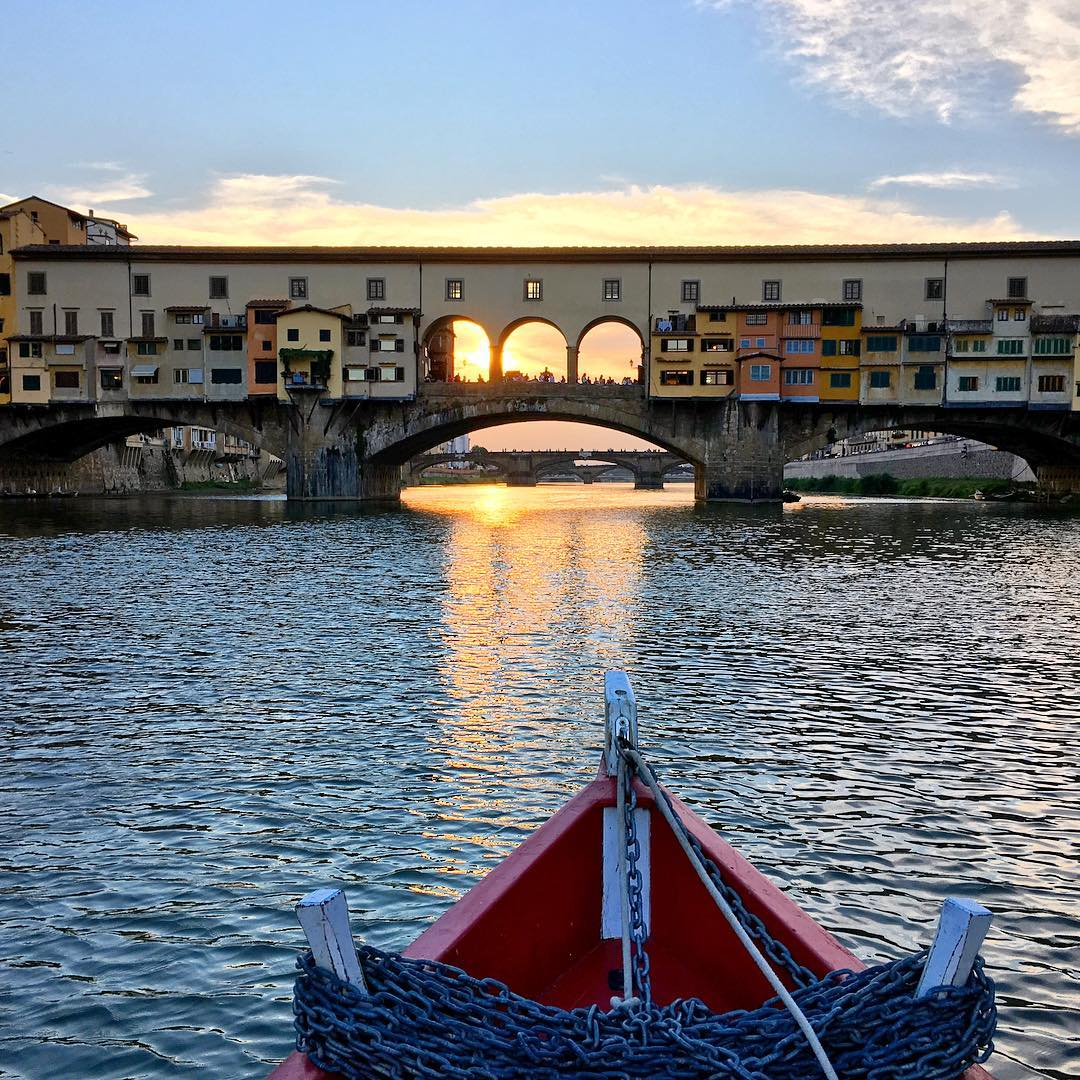 A hint of what you can expect from the boat trip on the Arno river