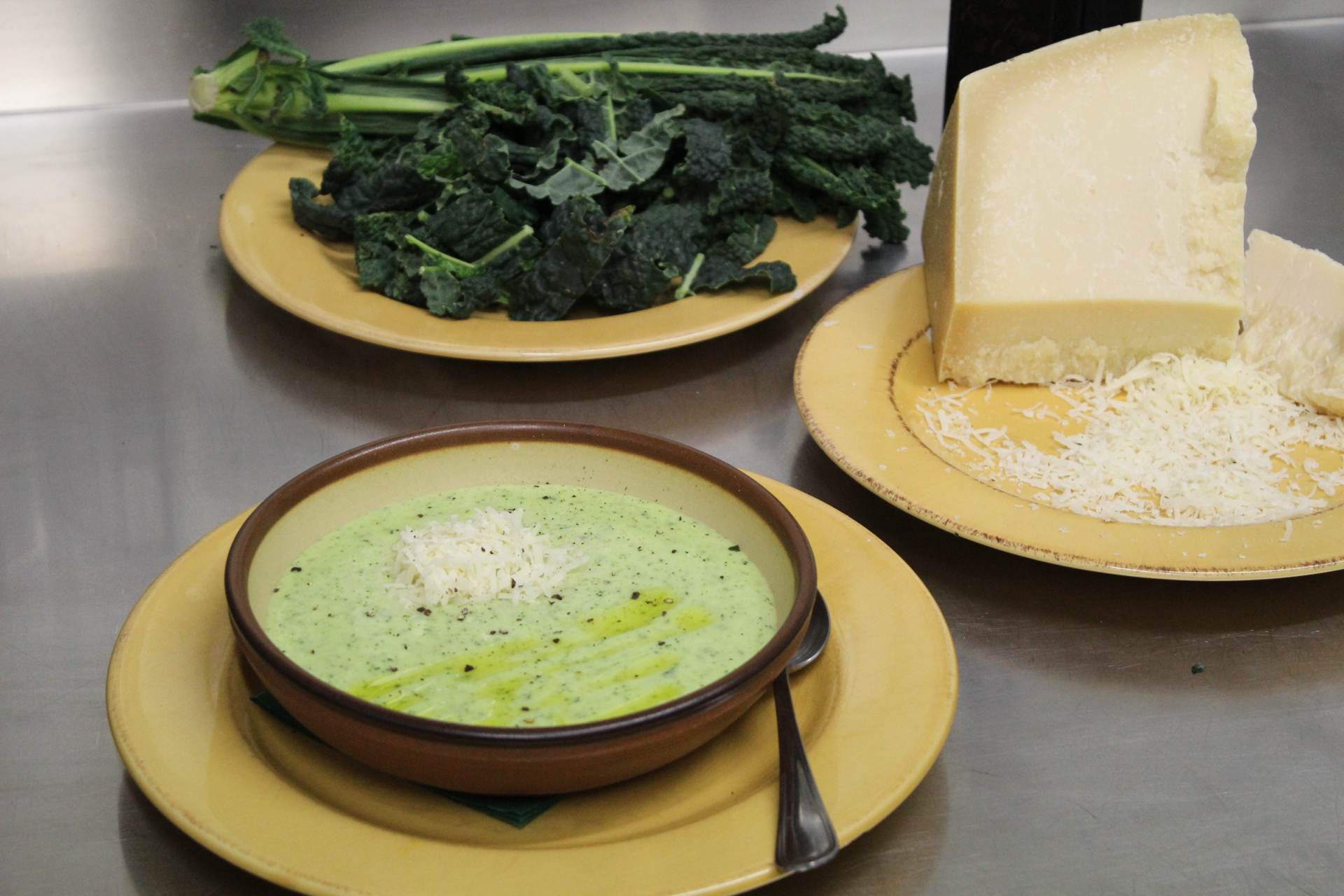 Polenta and kale - Farinata di cavolo nero - Tuscanycious - Tuscan ...
