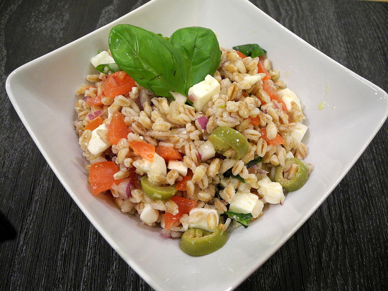Farro salad [Photo credits: chef per caso]