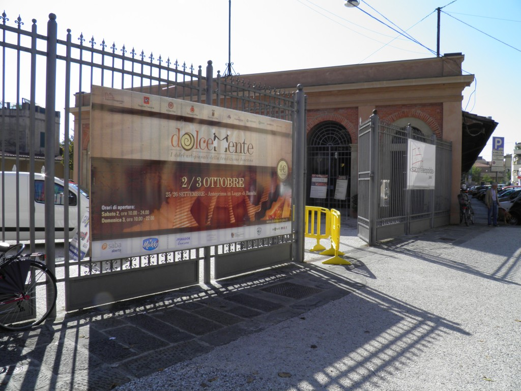 Entrance to Stazione Leopolda