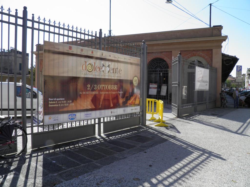 Entrance to Stazione Leopolda