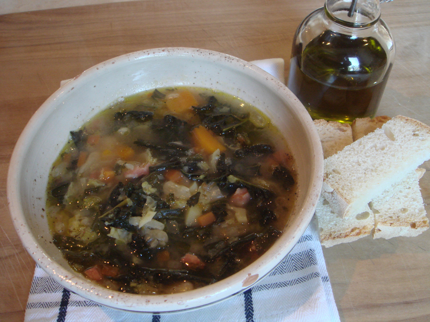 Winter Kale Soup
