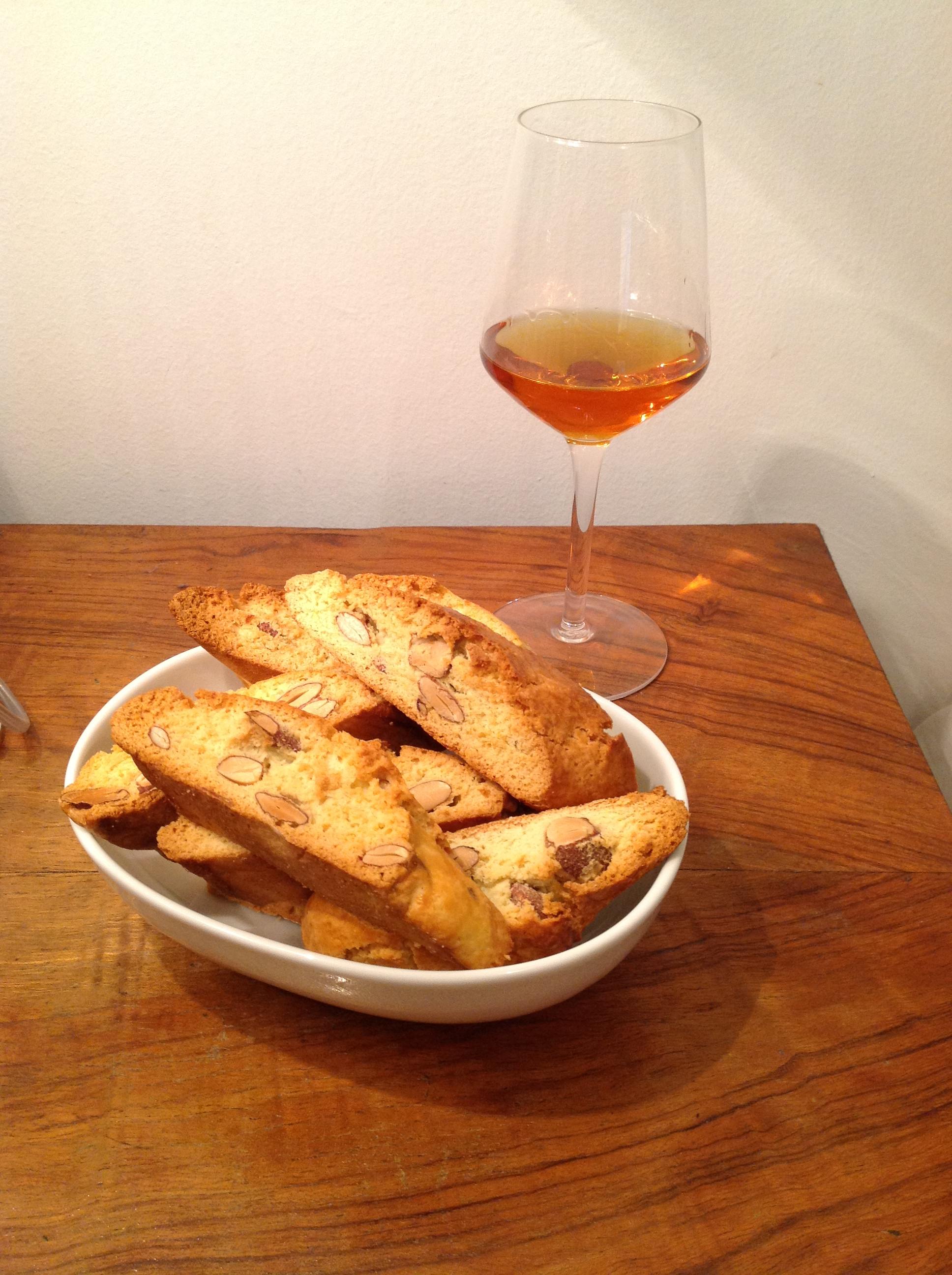 Cantucci with Vinsanto