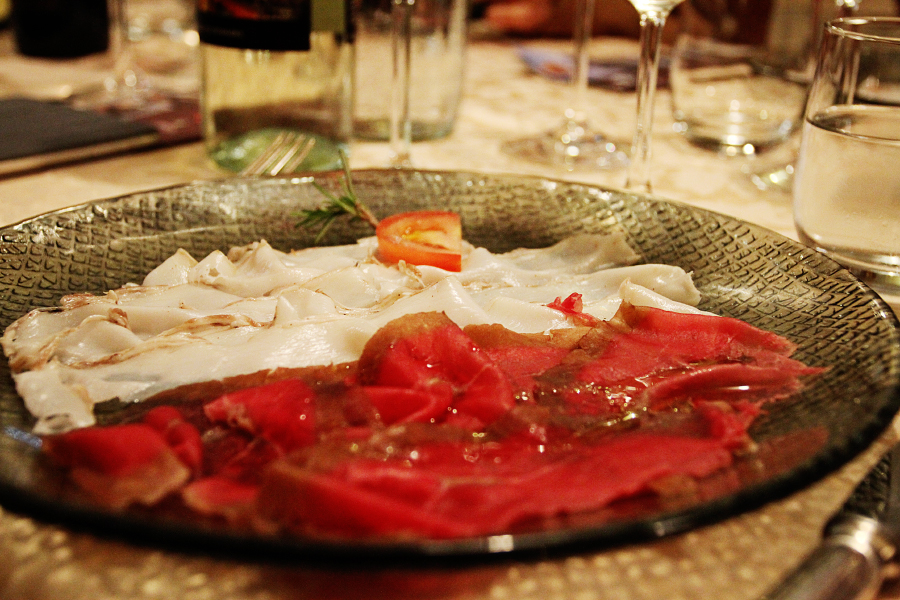 Cold cuts from Carrara [Photo credits: Emma Ivarsson]
