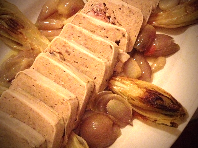 Pheasant terrine with shallots and endives by Arturo Dori