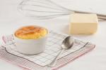 souffle formaggio e pepe rosa
