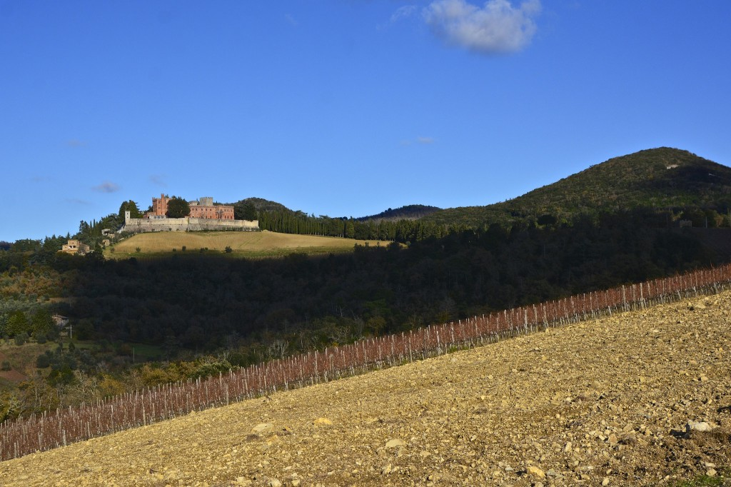 Brolio castle, one of the cellars to visit on May 30 and 31
