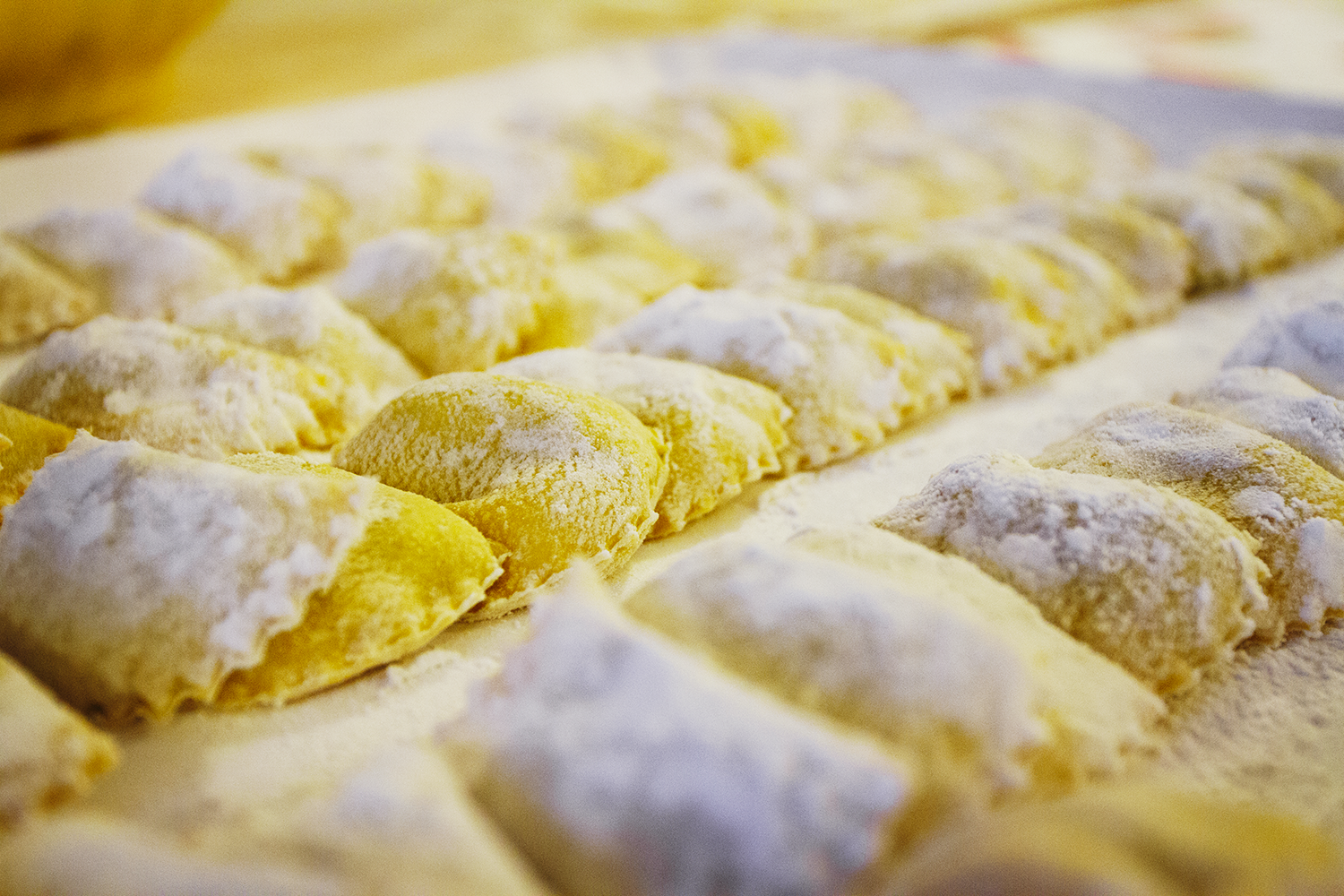 Spinach and ricotta tortelli [Photo credits: Emma Ivarsson]