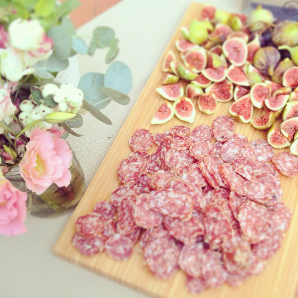 Tuscan salami [Photo credits: Zenzero Biocatering]