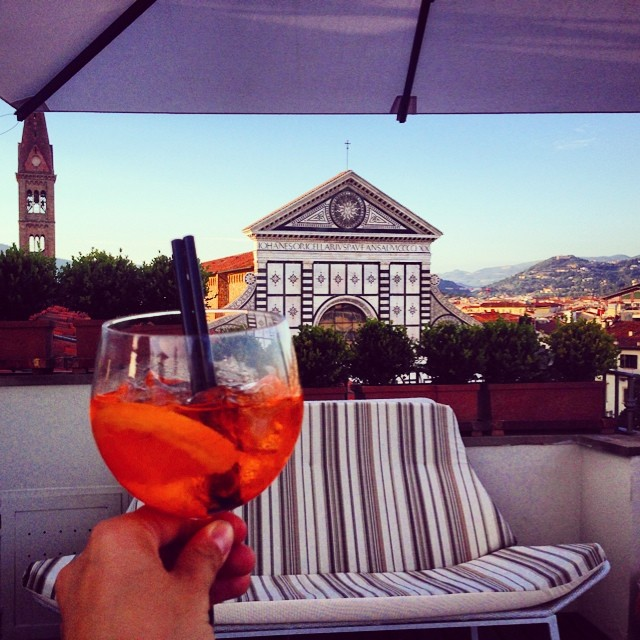 Spritz in Florence [Photo credits: Too much Tuscany]