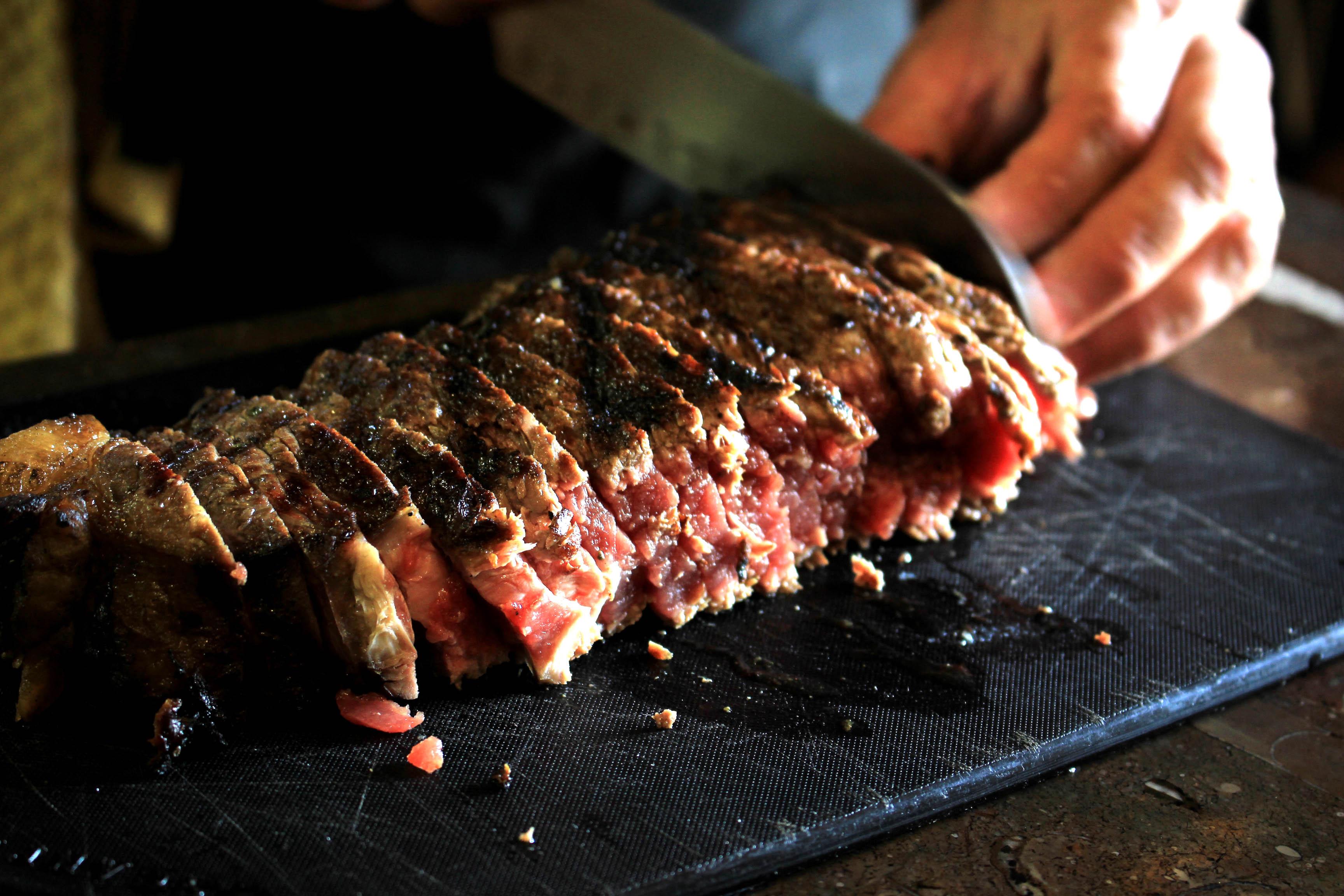 grilled chianina beef tagliata recipe visit tuscany